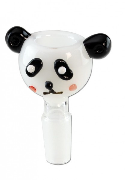 Glass Bowl Panda