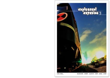 Unpleasant 3 graffiti časopis
