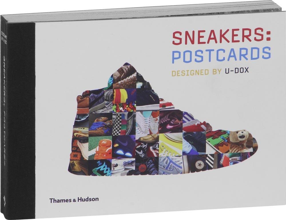 Sneaker postcards kniha