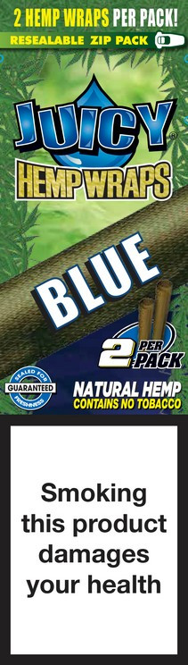 Blunty - Juicy Hemp Wraps BLUE