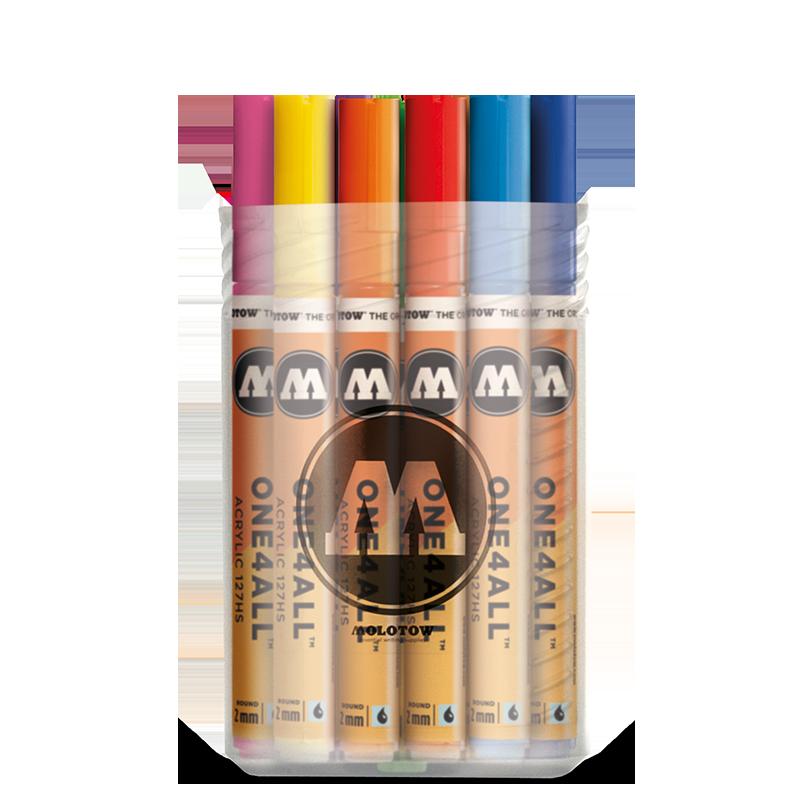 Sada fixiek ONE4ALL™ 127HS Main-Kit I (20ks)