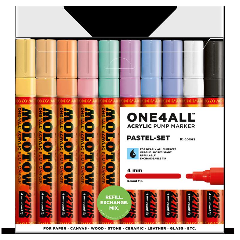 Sada fixiek ONE4ALL™ 227HS Pastel-Set