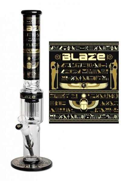 BLAZE GLASS Egypt Icebong 10-Arm Perkolator