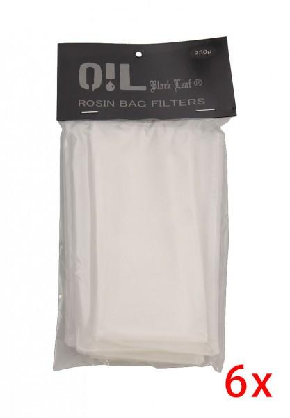 Oil black leaf rosin bag