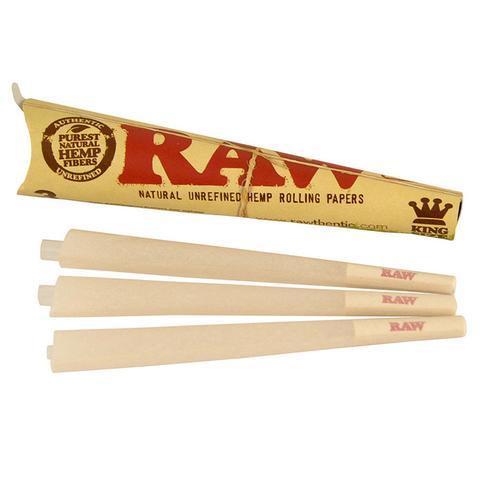 Raw Organic Cones King Size