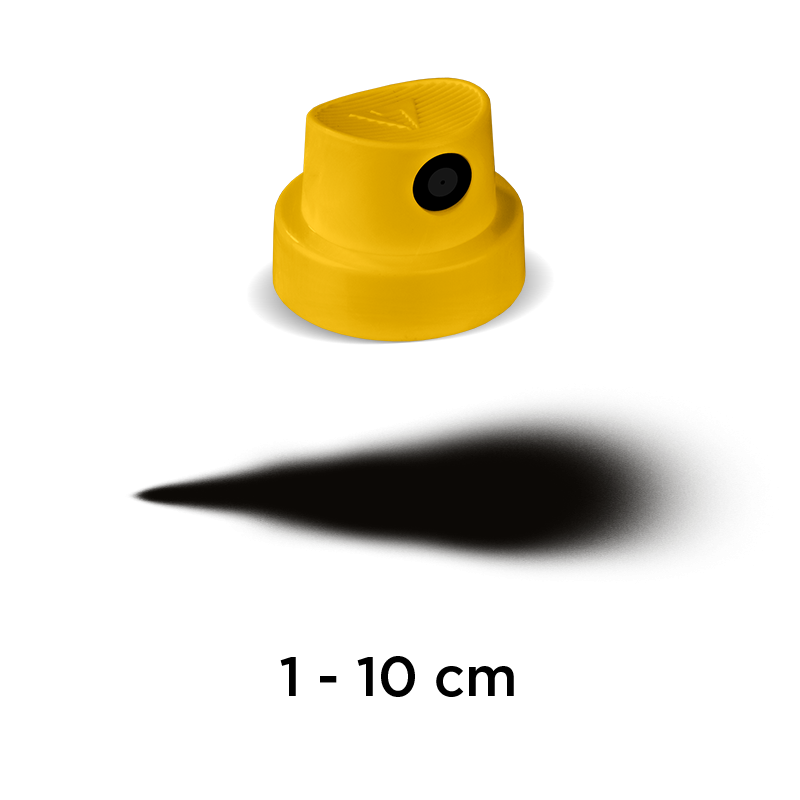 """Tryska Fat Cap  """"Yellow"""" yellow/black (9025)"""