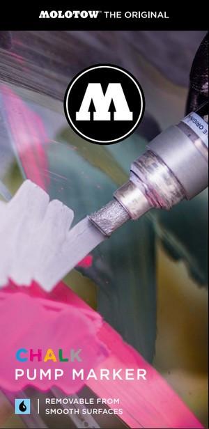 Chalk Pump Marker flyer