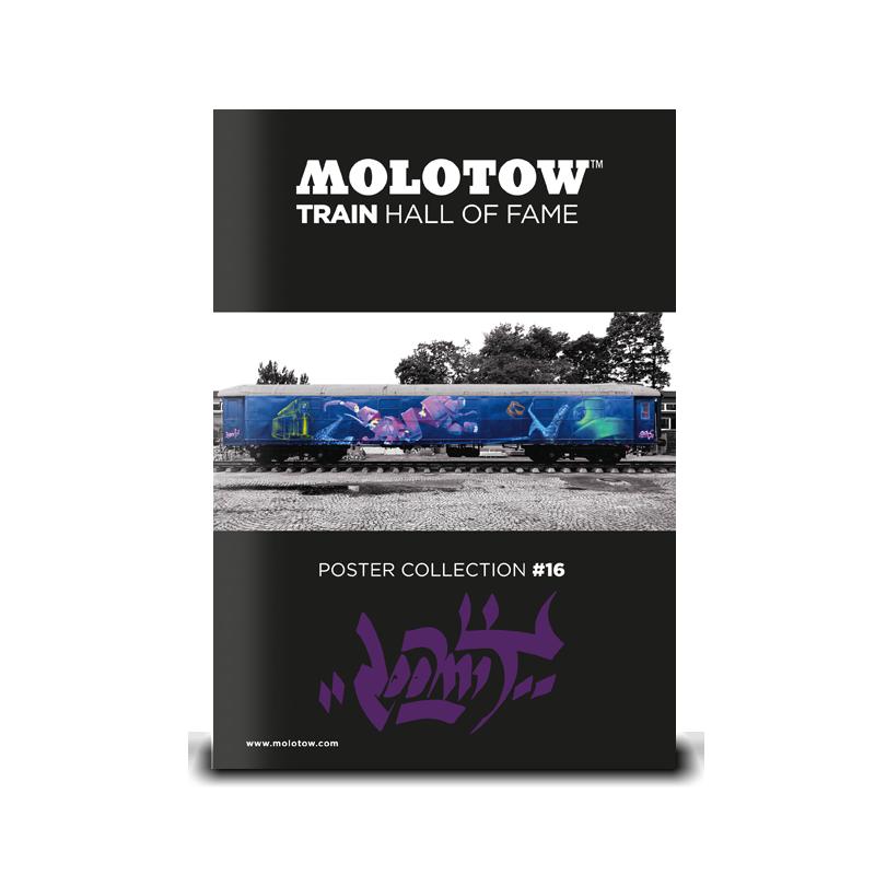 "MOLOTOW™ Train Poster #16 ""LOOMIT"""