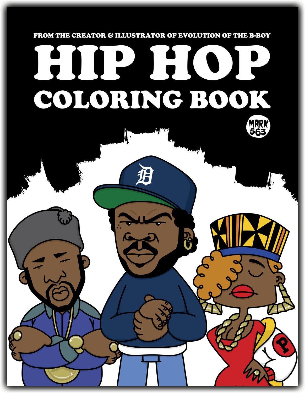 Hip-Hop Coloring book