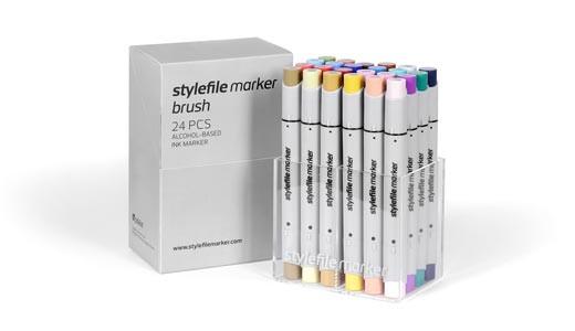 Stylefile Marker Brush 24 pcs set Main B