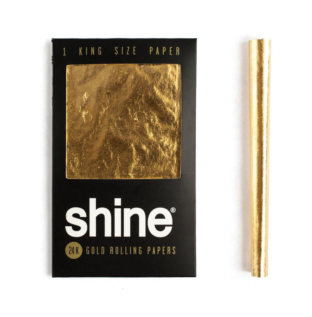 Shine 24K Gold - 1x zlatý papierik-king size