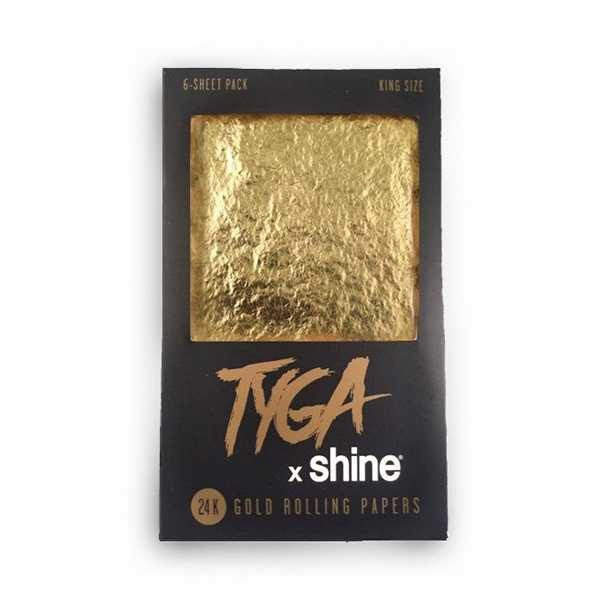 Shine tyga zlaté papieriky