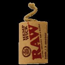 Raw konopné lanko 3m
