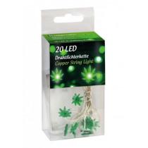Svetelná reťaz Leaves 20 LED Lights