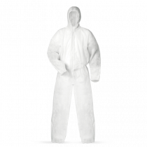 Ochranný overal - biely