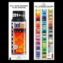 PREMIUM Color Chart Poster