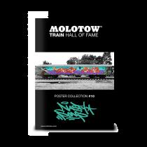 "MOLOTOW™ Train Poster #10 ""ROMEO & MEGA"""