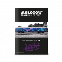 "MOLOTOW™ Train Poster #16 ""LOOMIT"""