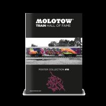 """MOLOTOW™ TRAIN POSTER #18 """"MR. CENZ"""""""