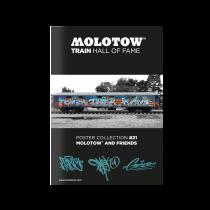 """MOLOTOW™ TRAIN Poster #21 """"TASTE OMSK GESER"""""""