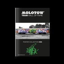 "MOLOTOW™ TRAIN Poster #24 ""ZEUS"""