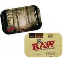 RAW Metal Rolling Tray Forest s viečkom