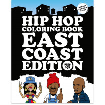 Hip-Hop Coloring book East Coast