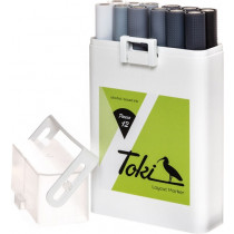 Toki 12er  Marker Set Grey