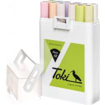 Toki 12er  Marker Set Pastel