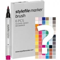 Stylefile marker Brush tryout set