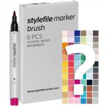 Stylefile marker Brush tryout set