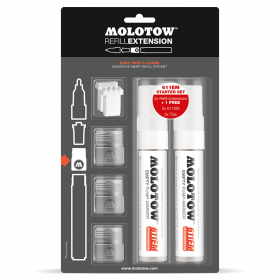 MOLOTOW™ REFILL EXTENSION 611EM STARTER KIT
