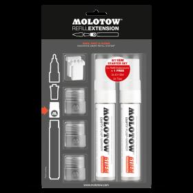 MOLOTOW™ REFILL EXTENSION 611EM STARTER KIT