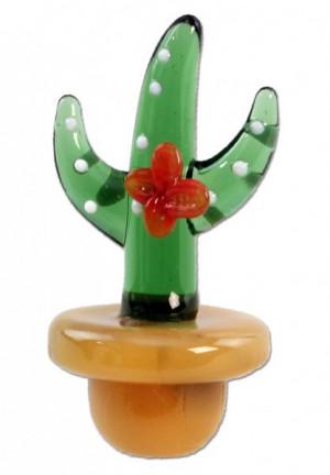 Glass Carb Cap Cactus
