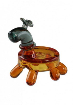 Glass Carb Cap Animal