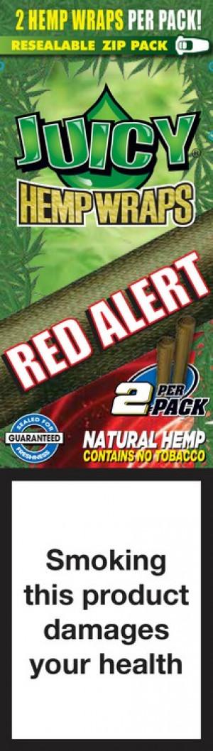 Blunty - Juicy Hemp Wraps Red