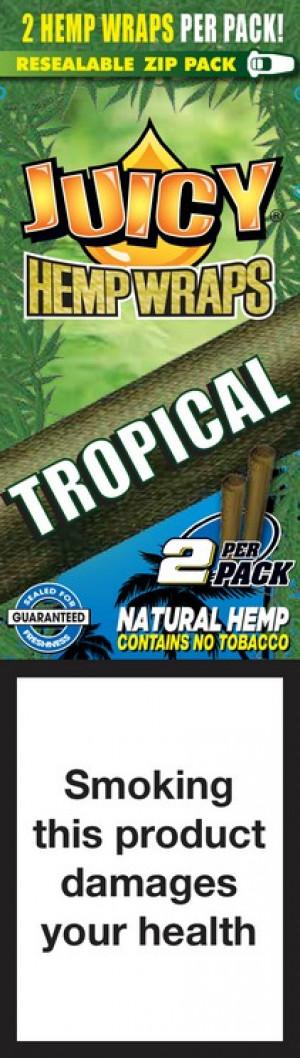 Blunty - Juicy Hemp Wraps Tropical