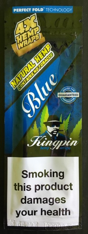 Kingpin Hemp Wrap - Blue