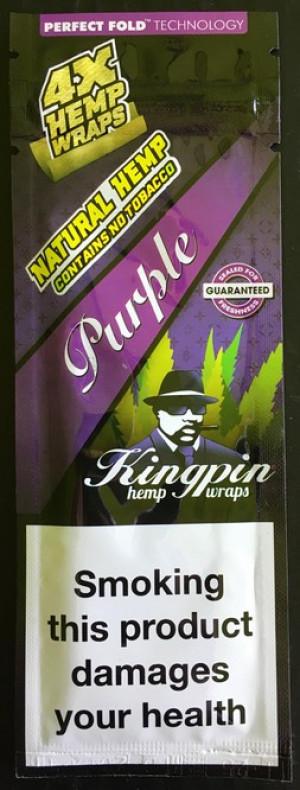 Kingpin Hemp Wrap - Purple