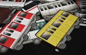 NÁLEPKY TRAIN A4