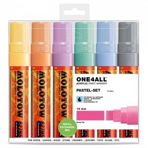 Sada fixiek ONE4ALL™ 627HS Pastel-Set