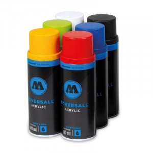 COVERSALL™ WATER-BASED 6 PACK COLOR SET 1