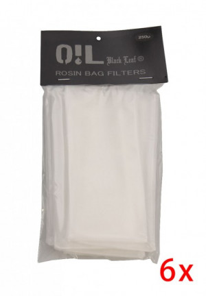 Oil black leaf rosin bag