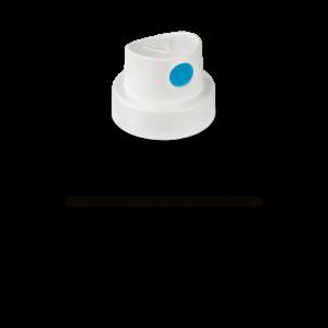 """Tryska  """"SmoothSoft"""" white/blue (9009)"""