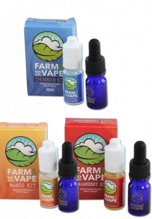 'Farm to Vape' Thinner Kit Mango