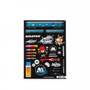 MOLOTOW™ Sticker Sheet A