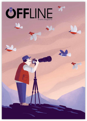 Offline Vol. 8 graffiti magazin
