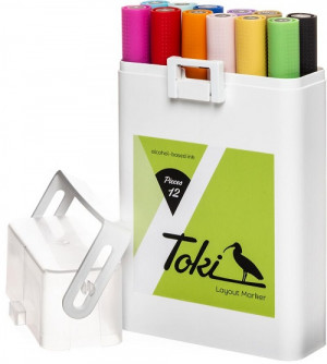 Toki 12er  Marker Set Main A