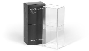 Acrylic empty box Stylefile Marker 12er