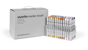Stylefile Marker Brush 72 pcs set Main